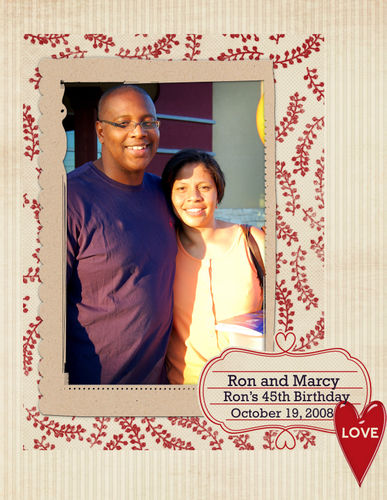 Ron and Marcy_Love