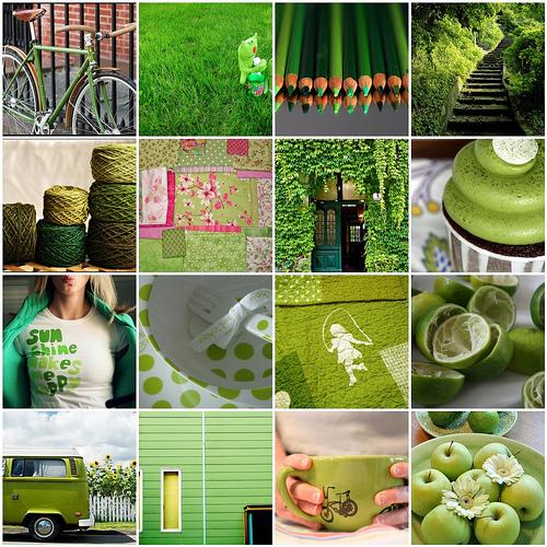 Green mosaic_030909