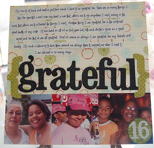 q Day 16: Grateful