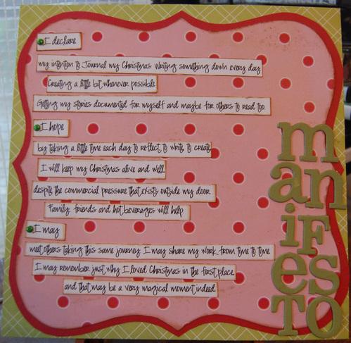 b Day 1: Manifesto