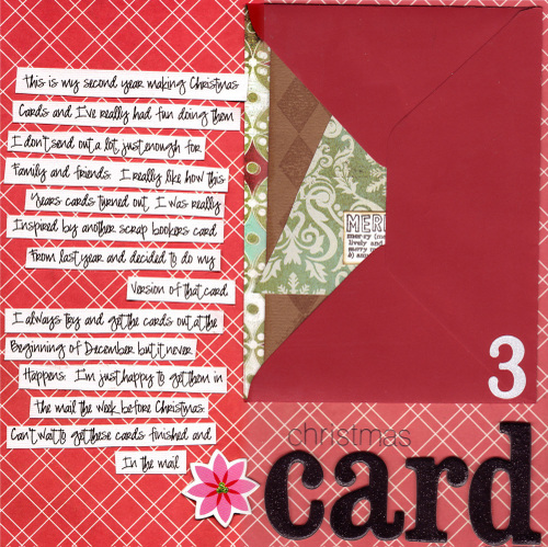 d Day 3: Christmas Card Page 1