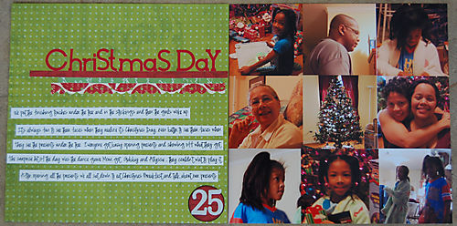z Day 25: Christmas Day