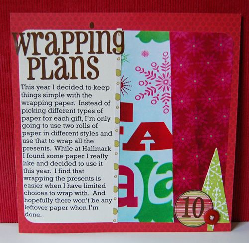 k Day 10: Wrapping Plans