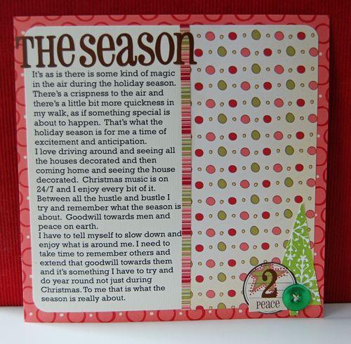 zh Day 33: The Season